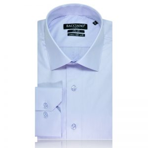 Men dress shirt blue lak 7008 a
